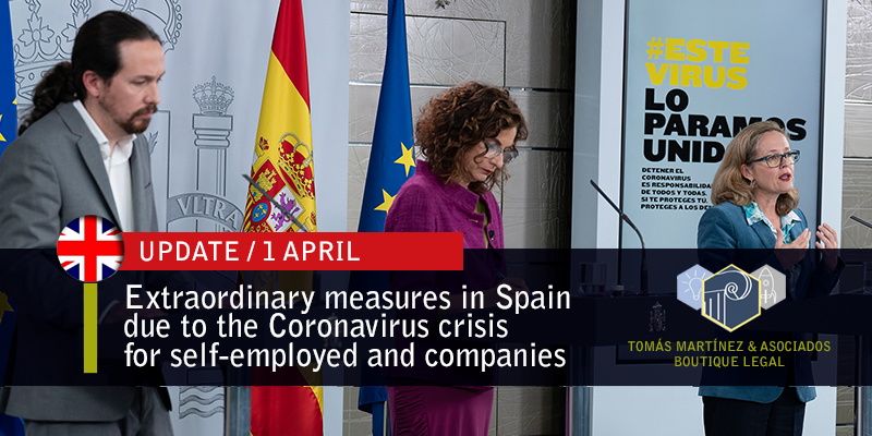 extraordinary-measures-in-spain-due-to-the-coronavirus-crisis-for-self-employed-and-companies